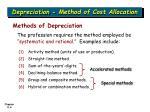 depreciation method of cost allocation6