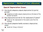 depreciation method of cost allocation8