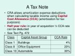 a tax note