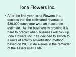 iona flowers inc