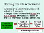 revising periodic amortization