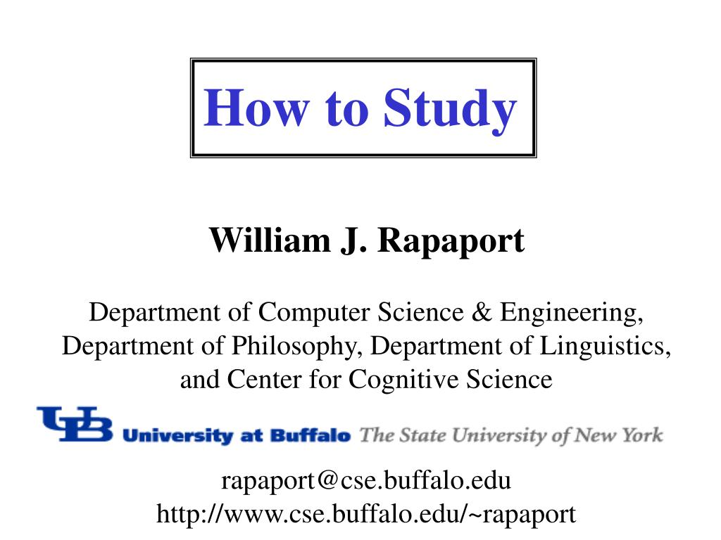 how to study l.