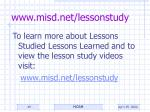 www misd net lessonstudy