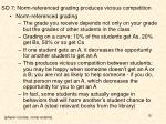 so 7 norm referenced grading produces vicious competition