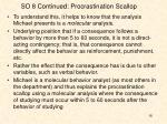 so 8 continued procrastination scallop