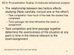 so 8 procrastination scallop a molecular behavioral analysis