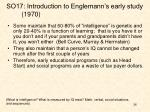 so17 introduction to englemann s early study 1970