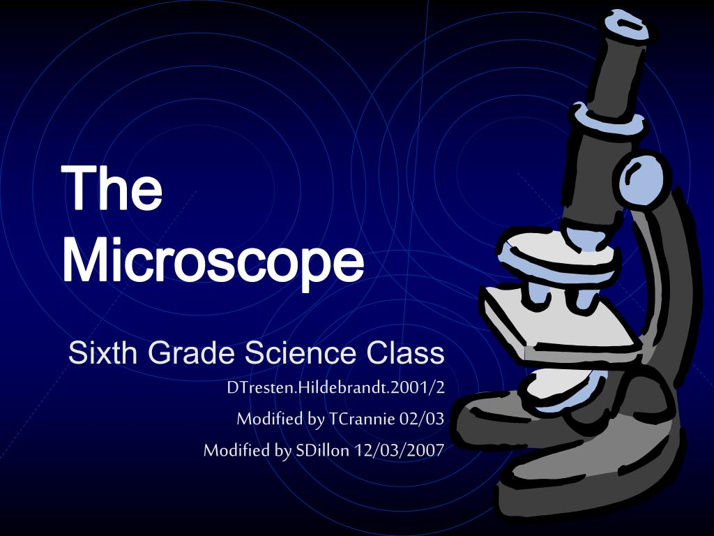 the microscope l.