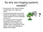 so why are imaging systems needed