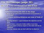 the microscope page 2921