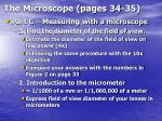 the microscope pages 34 3523