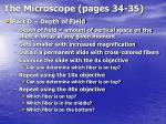 the microscope pages 34 3524