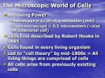 the microscopic world of cells6