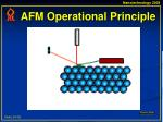 afm operational principle