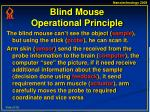 blind mouse operational principle