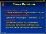 terms definition4