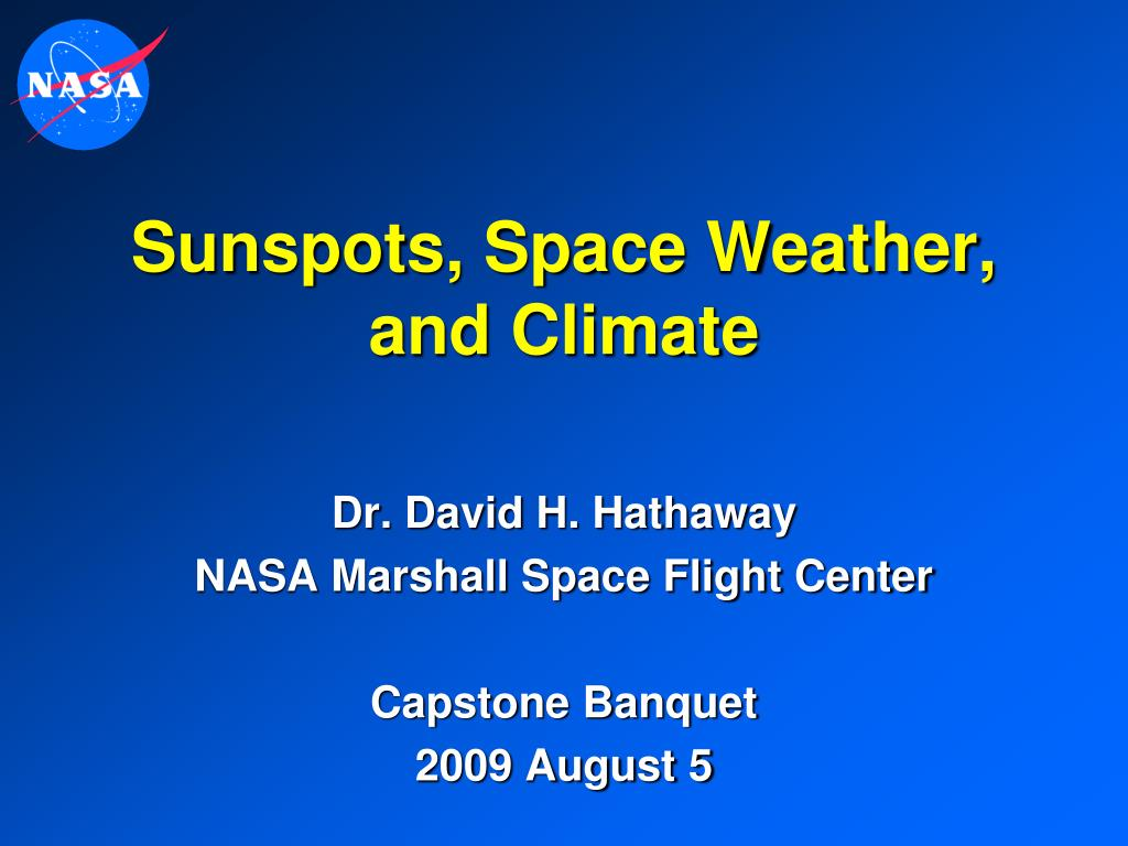 sunspots space weather and climate l.