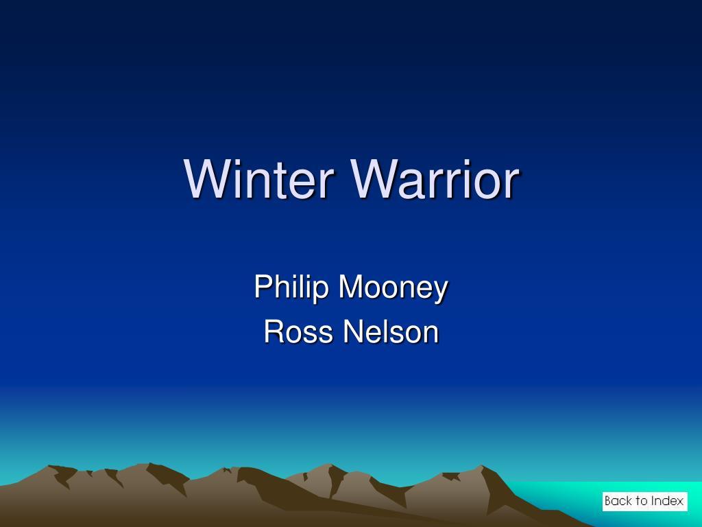 winter warrior l.