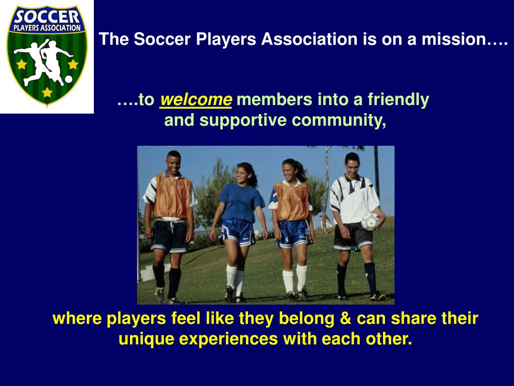 where players feel like they belong & can share their