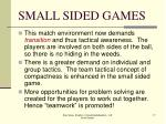 small sided games17