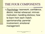 the four components27