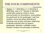 the four components29