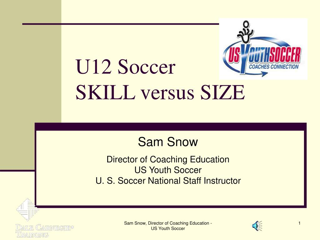 u12 soccer skill versus size l.