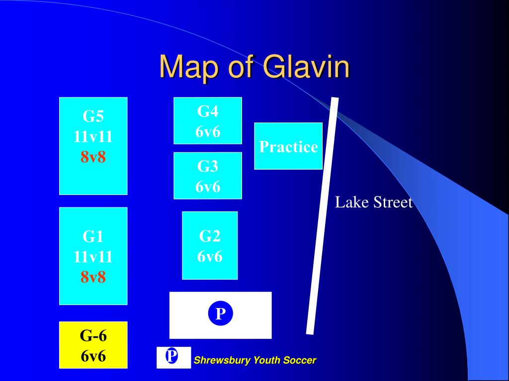 Map of Glavin