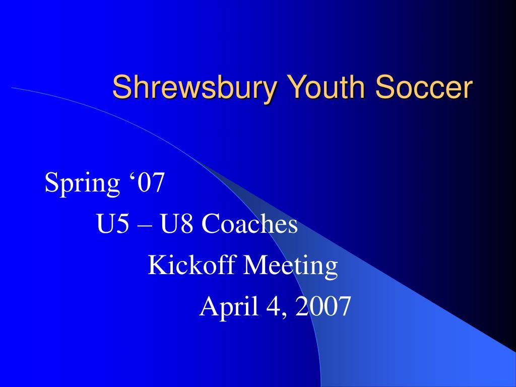 shrewsbury youth soccer l.