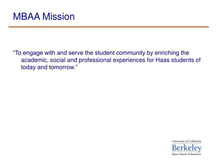 Mbaa mission