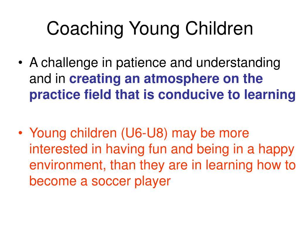 Coaching Young Children