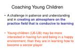 coaching young children