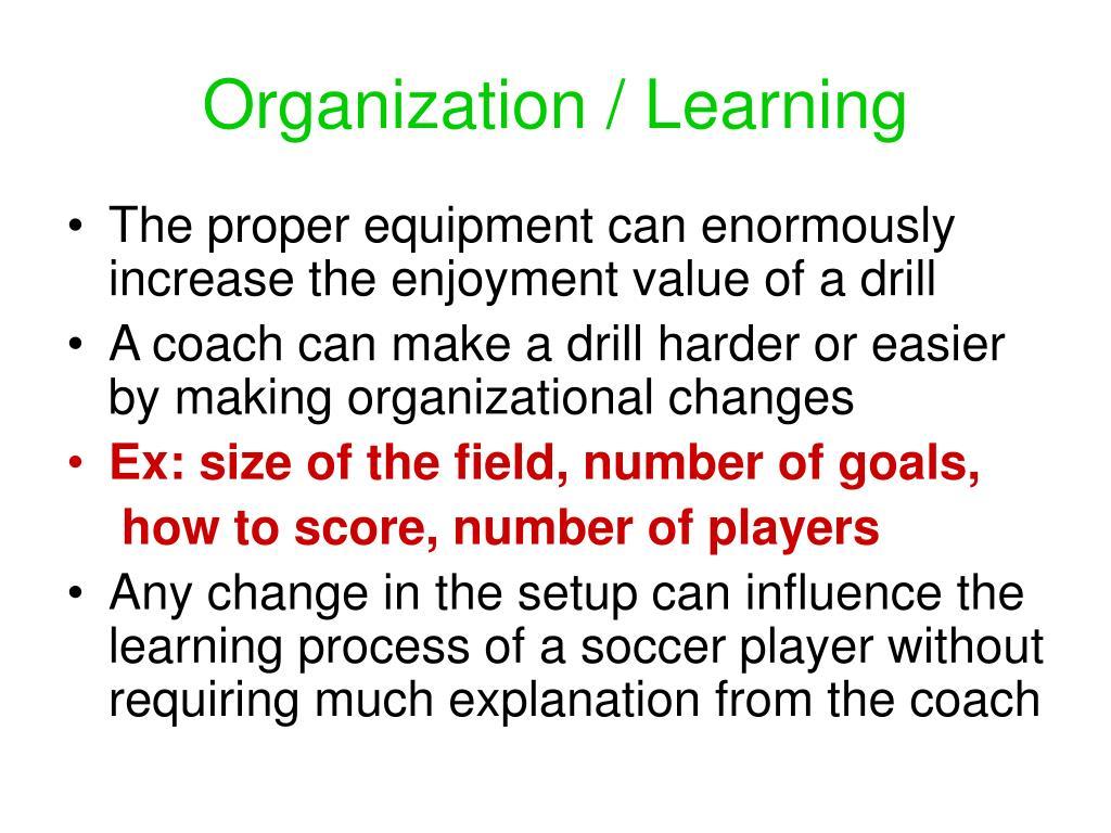Organization / Learning