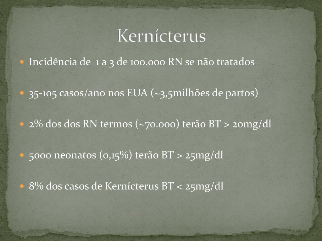 Kernícterus