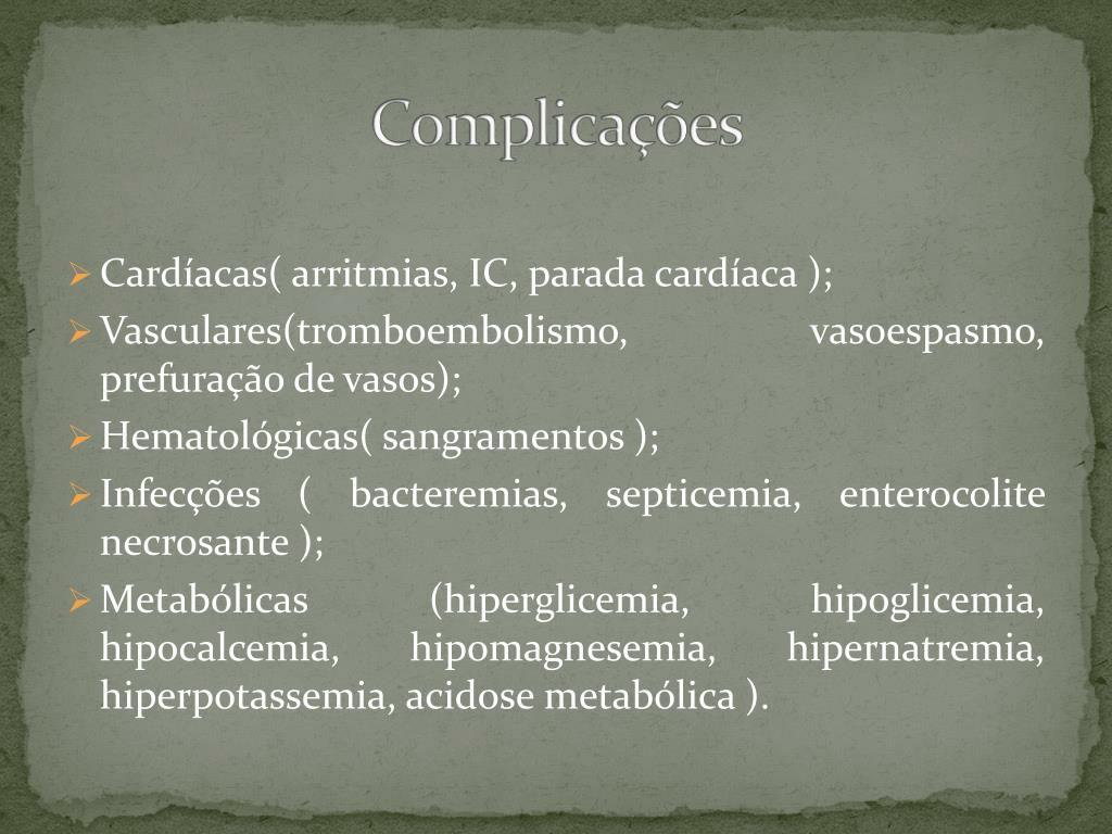 Cardíacas( arritmias, IC, parada cardíaca );