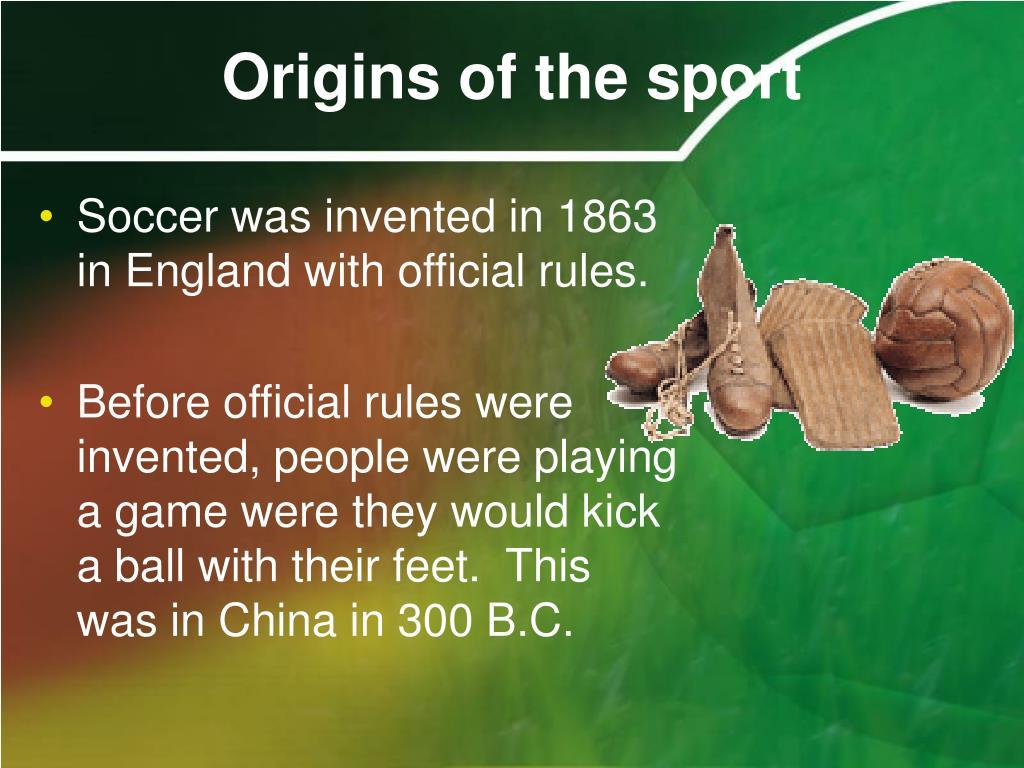 Origins of the sport