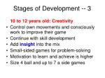 stages of development 3