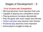 stages of development 5