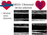 mesa ultrasound device selection5