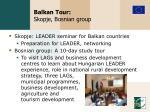 balkan tour skopje bosnian group
