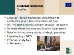 bilateral relations croatia