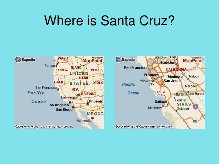 Where is santa cruz