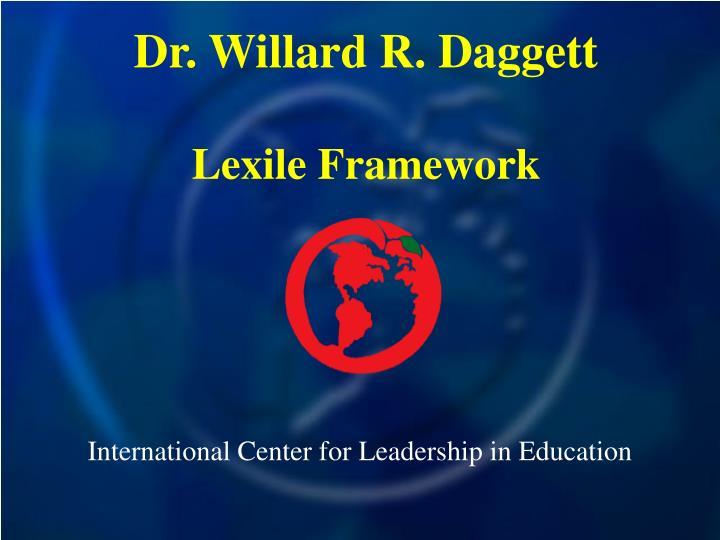 international center for leadership in education n.