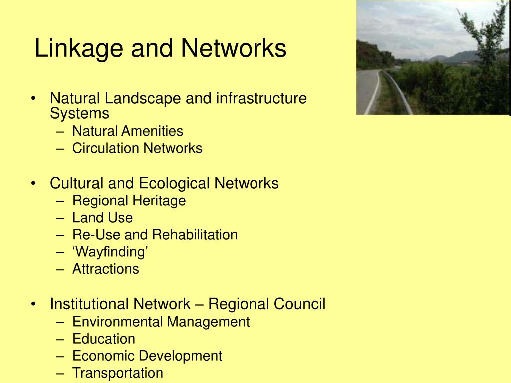 Linkage and Networks