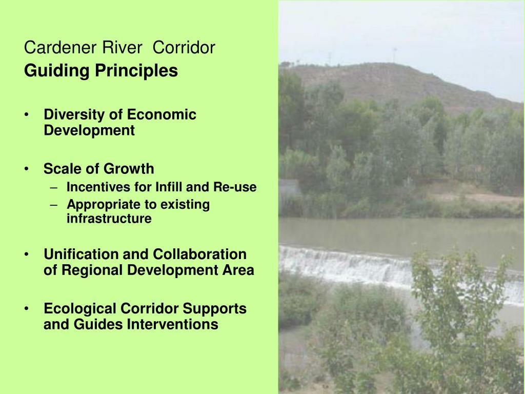 Cardener River  Corridor