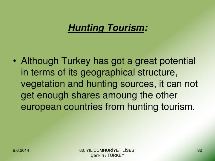 Hunting Tourism