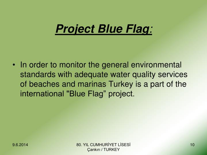 Project Blue Flag