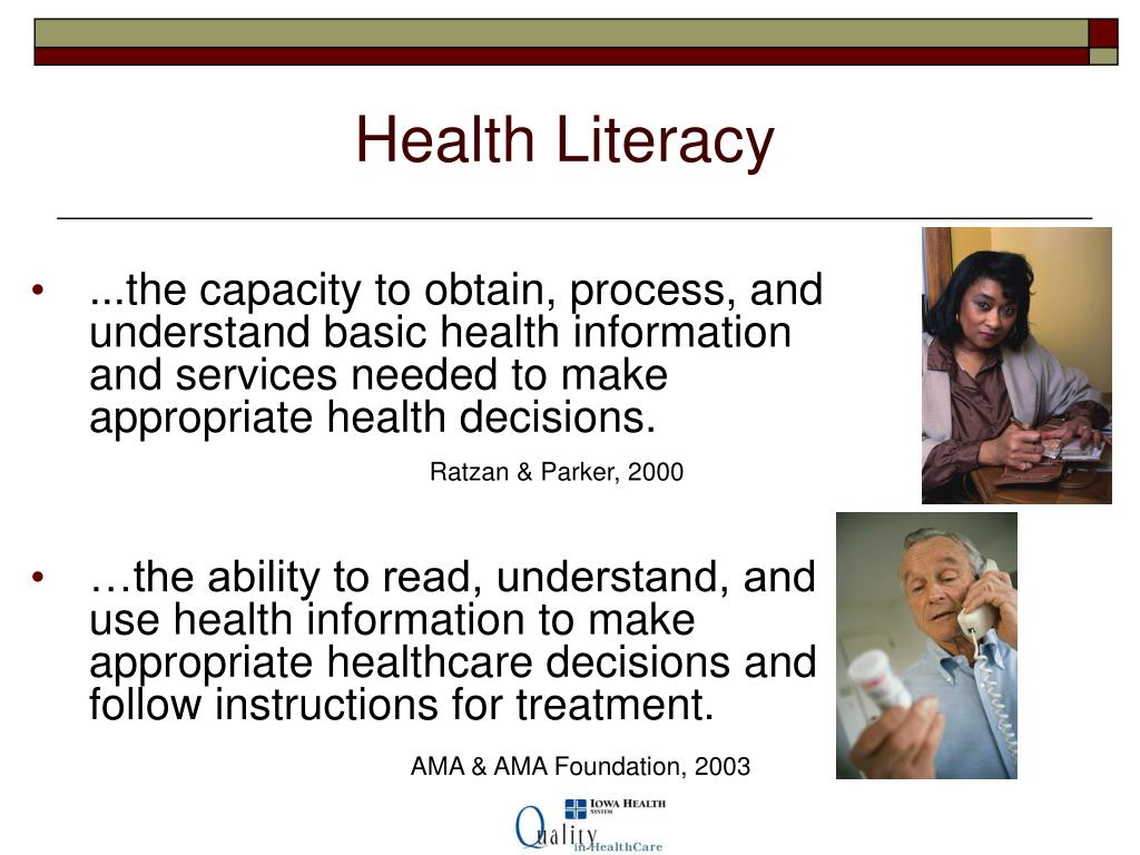 health literacy essay How can the answer be improved.