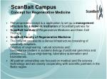 scanbalt campus concept for regenerative medicine