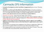 carmacks cp5 information